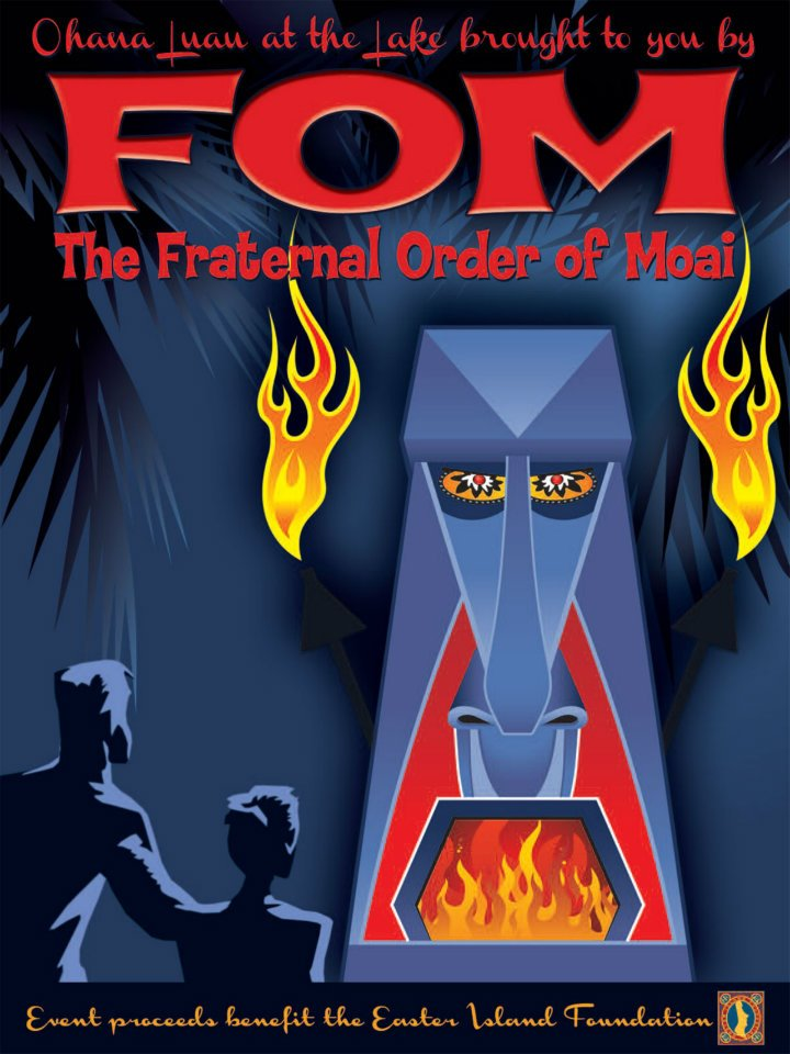 FOM Fraternal Order Of Moai