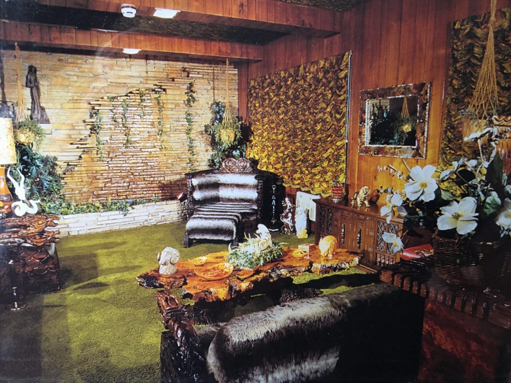 The Jungle Room at Graceland