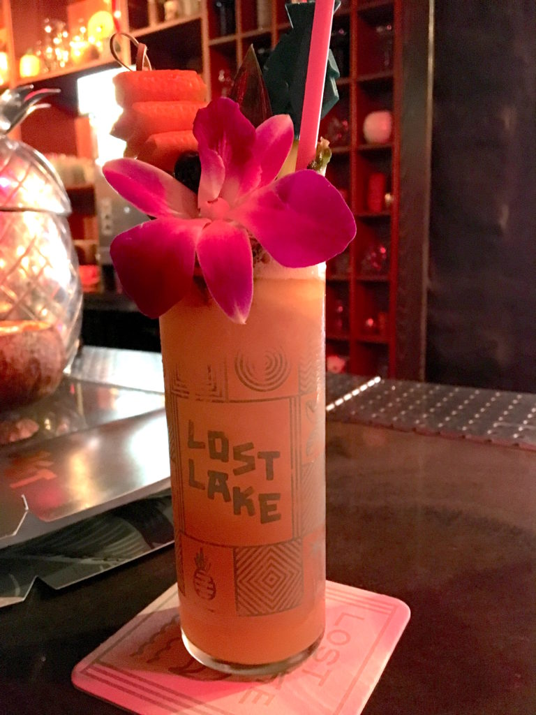 Lost Lake Cocktail