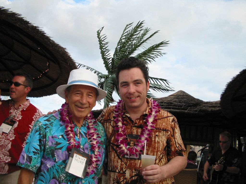 With Billy Mure at Hukilau 2004