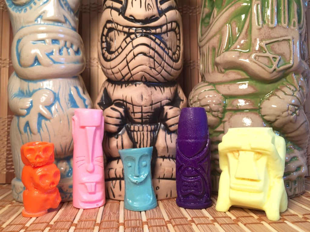 Vermin Tiki Mini Tiki Mugs