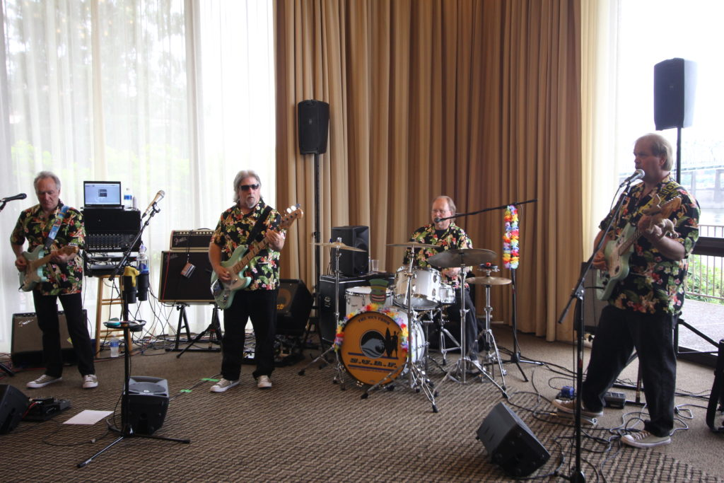 The Men from S.U.R.F. playing at the Island Marketplace - Tiki Kon 2017