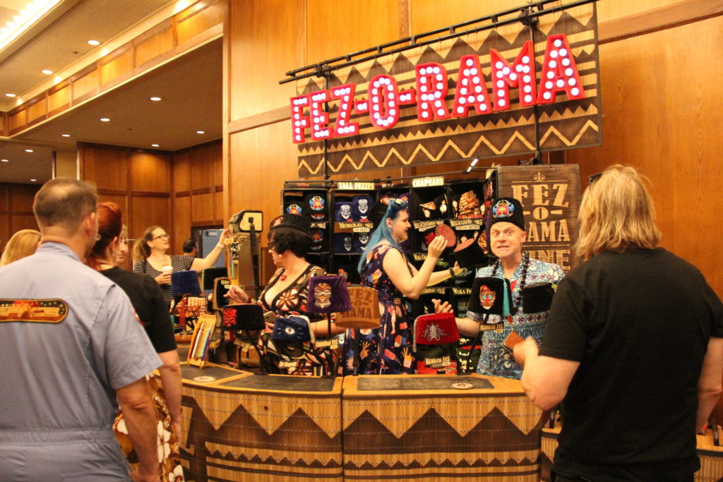 Fez-O-Rama at The Island Marketplace -Tiki Kon 2017