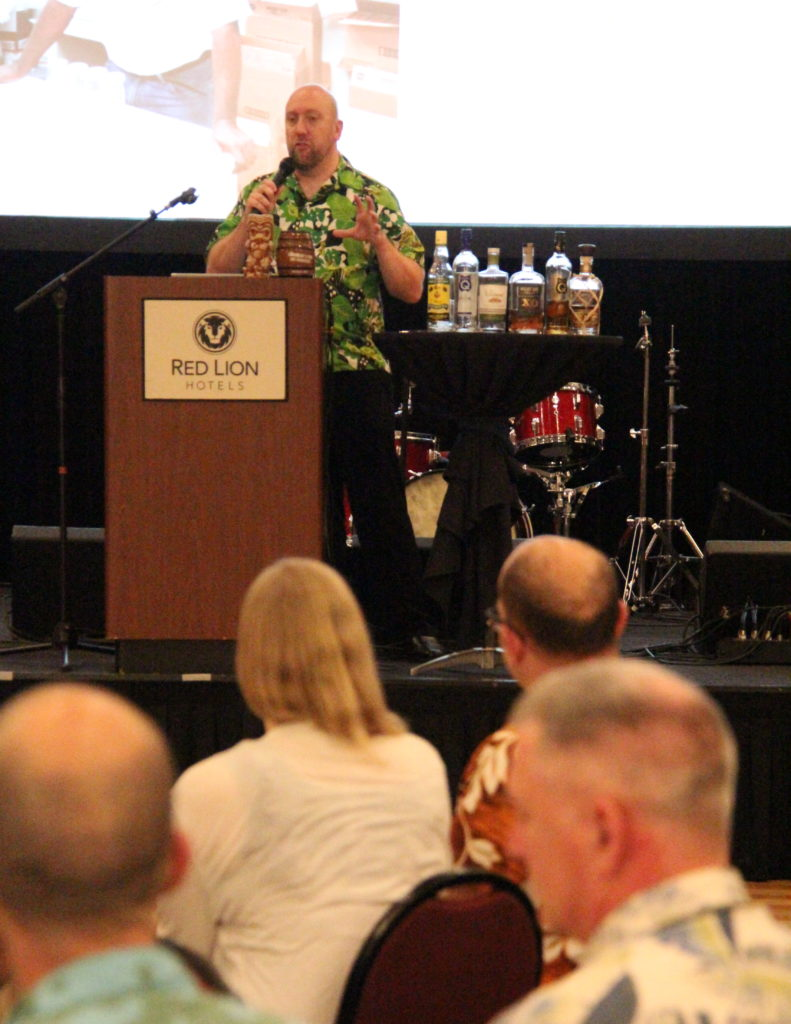 Rum Class with Martin Cate at Tiki Kon 2017