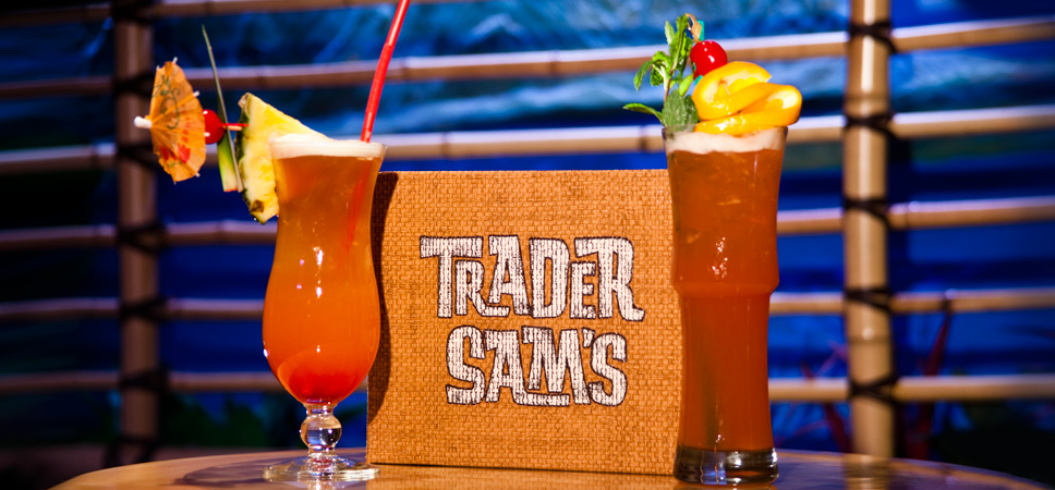 Trader Sam's Drink Menu