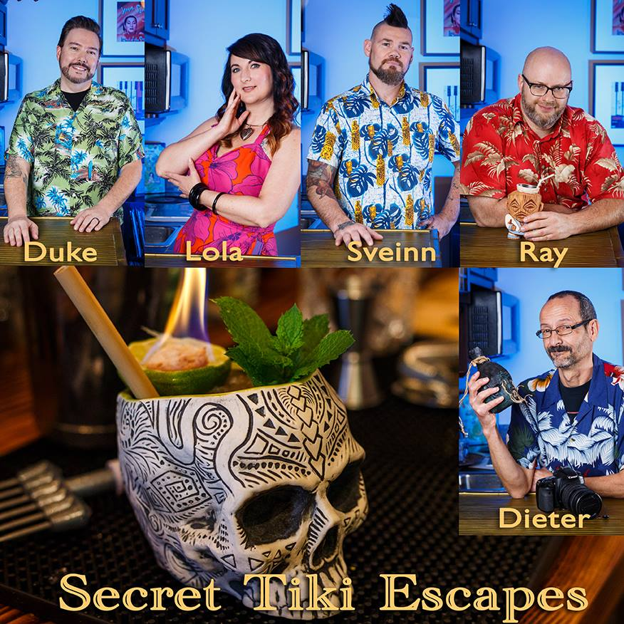 Behind the scenes Secret Tiki Escapes Episode 1 The Cave Of Kungaloosh