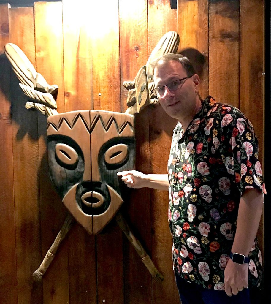 entrance Kon Tiki Kevin Crossman