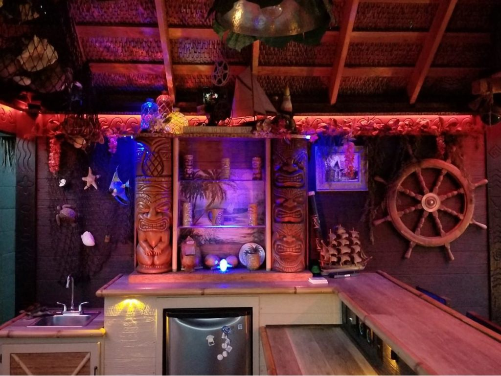 What Made You Decide To Build Your Own Tiki Bar Any Story Behind The Name